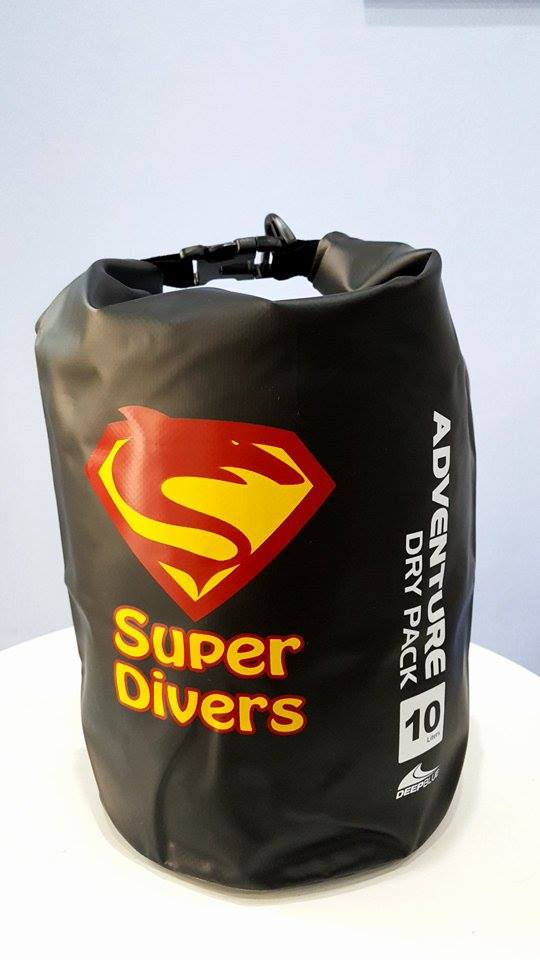 Phuket diving dry packs available at Super Divers in Patong